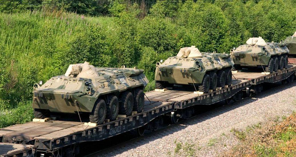 военные грузы